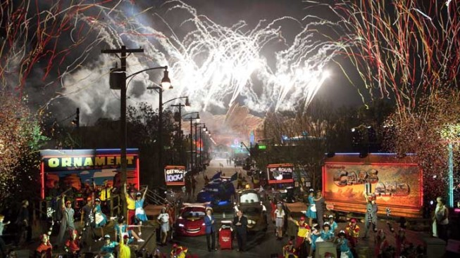 Cars Land Goes Full Throttle at Disney's California Adventure