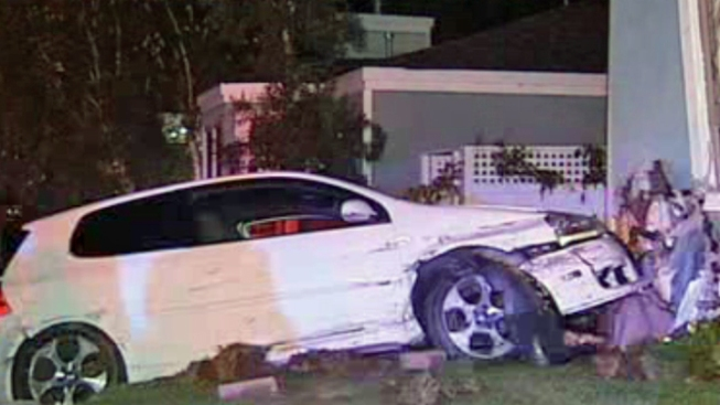 Car Crashes Into Baby's Room