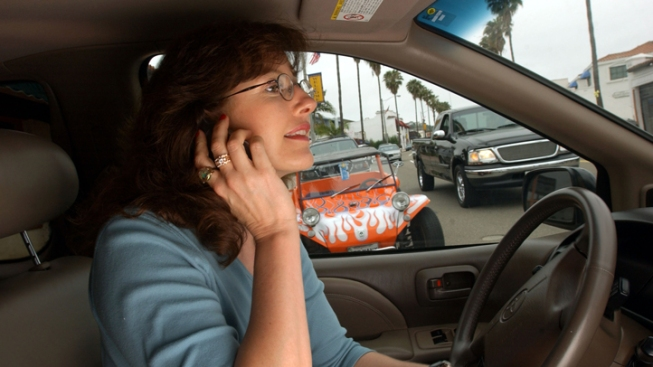 CHP Cracking Down on Distracted Drivers