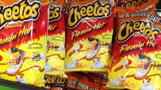 A Flamin' Hot Cheetos Pop-up Restaurant Is Happening