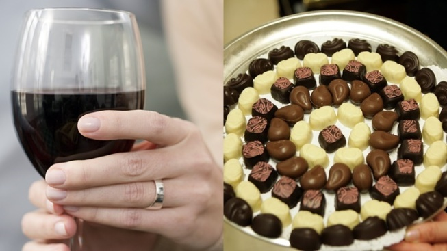 Wine, Chocolate, Madera Wine Trail + Valentine's