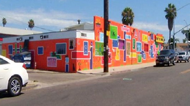 Community Transforms Unsightly Building
