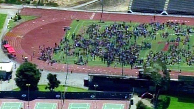School Locked Down After Bomb Threat