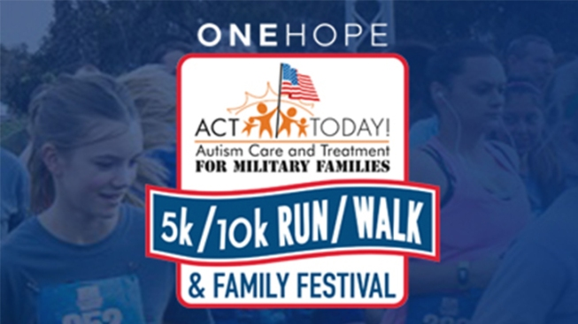 ACT TODAY! For Military Families 5K/10K Walk/Run
