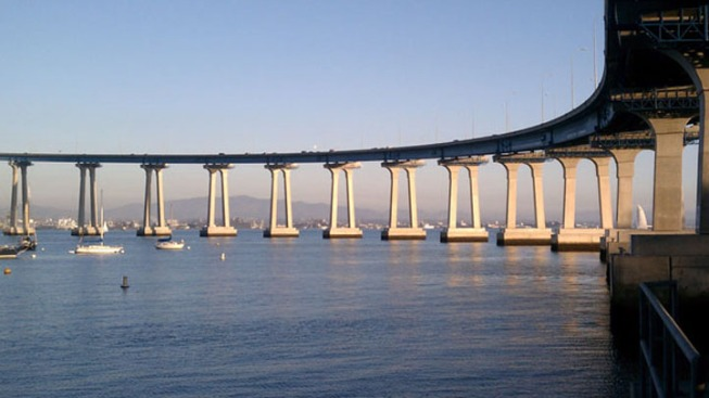 Officials Reopen Coronado Bridge