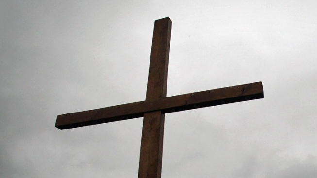 Crosses Removed From Inspirational Point