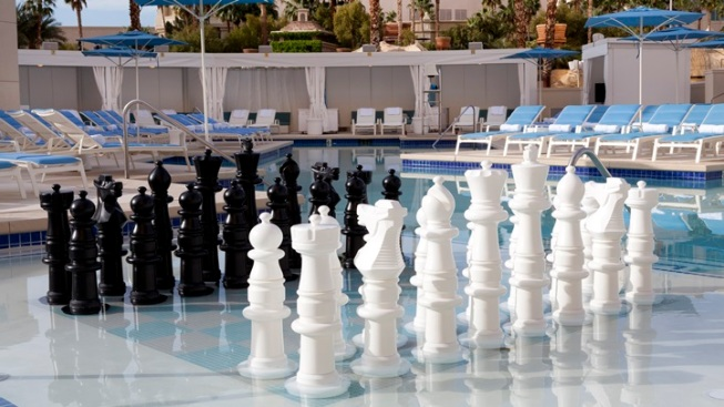 Swim Chess: Vegas Pool Ups the Game