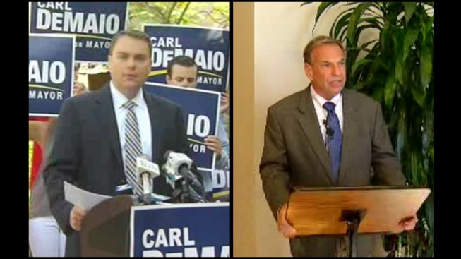 DeMaio Touts Prop. B Guarantee; Draws Fire from Unions, Filner