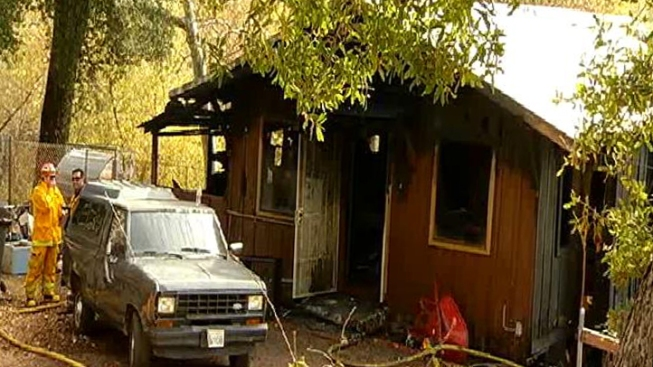 1 Dead After Fire in East County Cabin