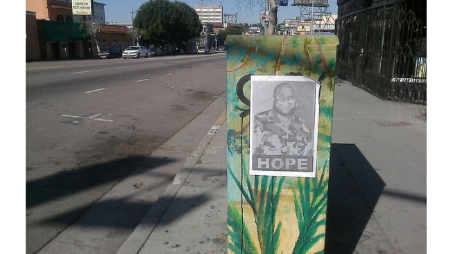 Posters, Tattoos Among Signs of Support for Ex-Officer Christopher Dorner