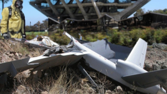 Source of Mystery Drone Crash Revealed