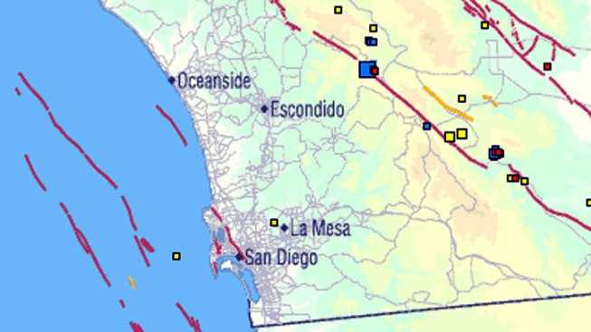 3.8 Quake Rattles North County