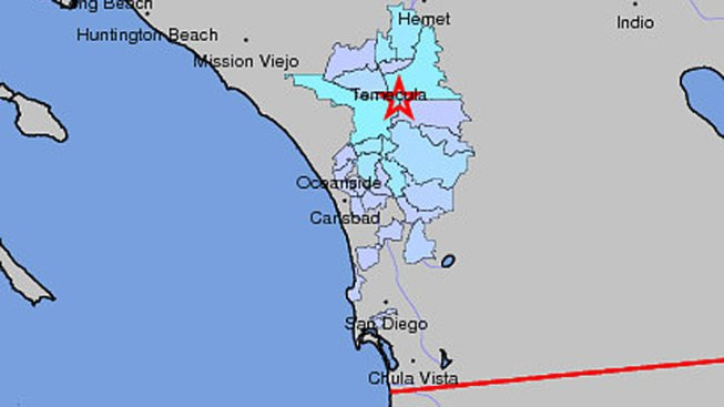 Quake Rattles North County