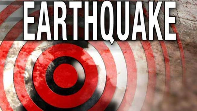 Earthquake Reported Near Julian
