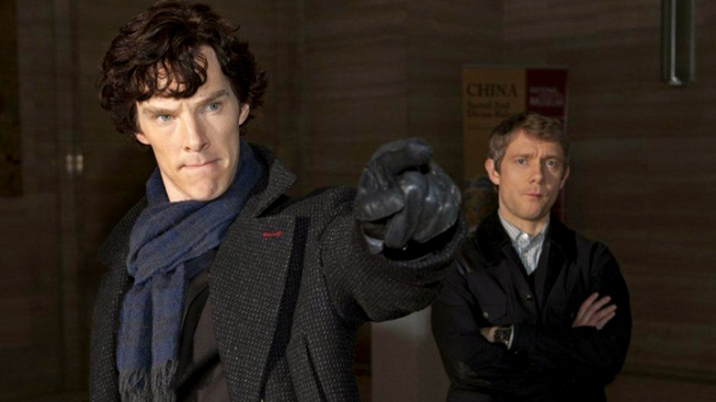 "Cumberbatch's ""Sherlock"" Back With ""Downton Abbey"""