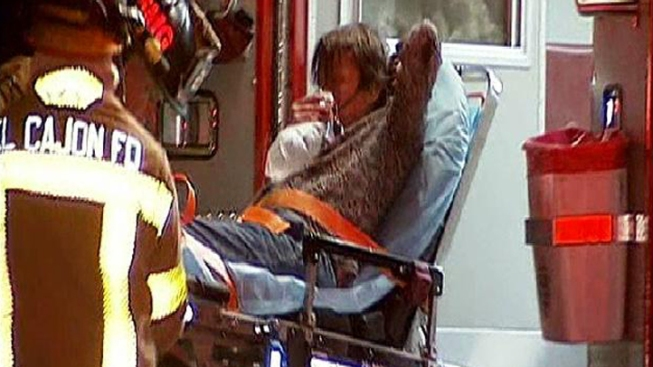 Dog Rescues Teen From Fire