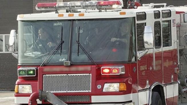 Fire Burns in Lemon Grove
