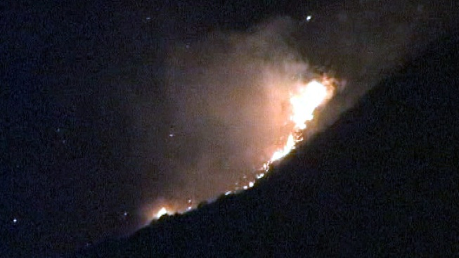 Fire Burns 500 Acres Near Palm Springs