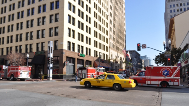 Smoldering Fire Reported at Downtown Hotel