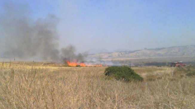 Chula Vista Car Wrecking Lot Ablaze