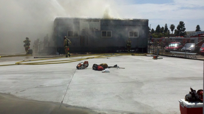 Fire Burns Church Classrooms in Midway