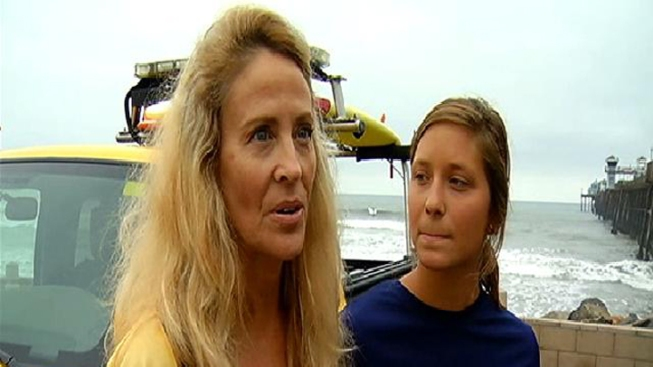 Paddle Out Victim Thanks Lifeguards for Rescue