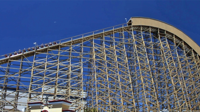 Great America's Gold Striker Roller Coaster Closed Due to Noise