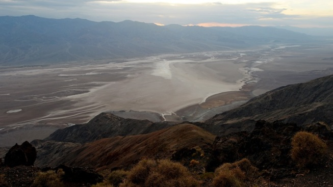 Searching for Ghost Towns in Death Valley