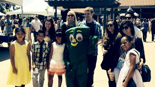All Gumby, All Weekend Long: Glendora Fest