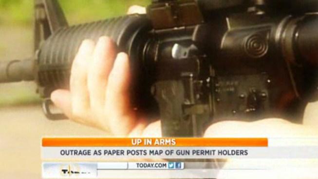 N Y  Newspaper Releases Names of Gun Permit Holders - NBC 7