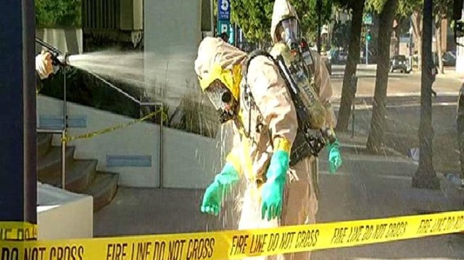 Chemical Spills Onto Downtown Streets