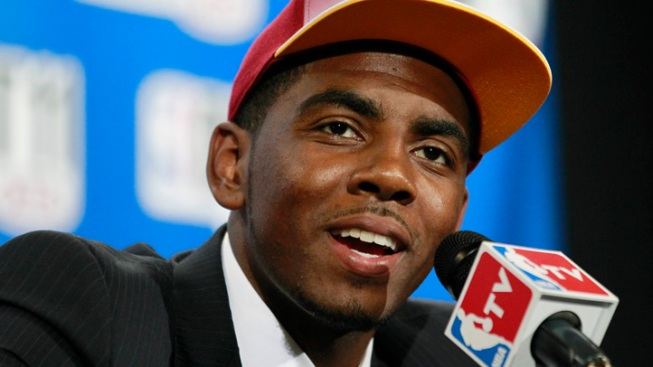 Cavs Take Irving with No. 1 Pick in NBA Draft