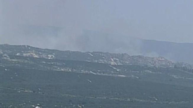 Fire Jumps U.S-Mexico Border