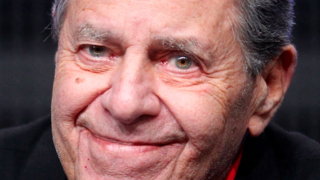 Comedian Jerry Lewis Hospitalized
