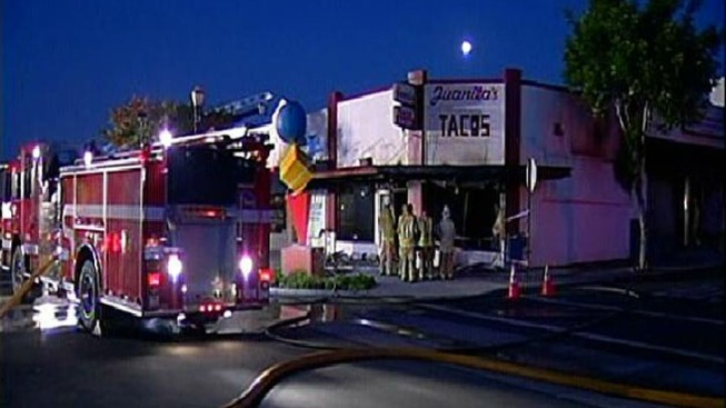 Cash Register of Burned Taco Shop Found