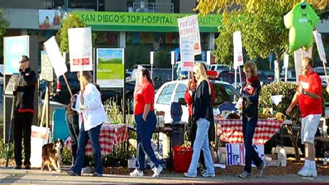 200 Local Kaiser Workers Strike for Fourth Time