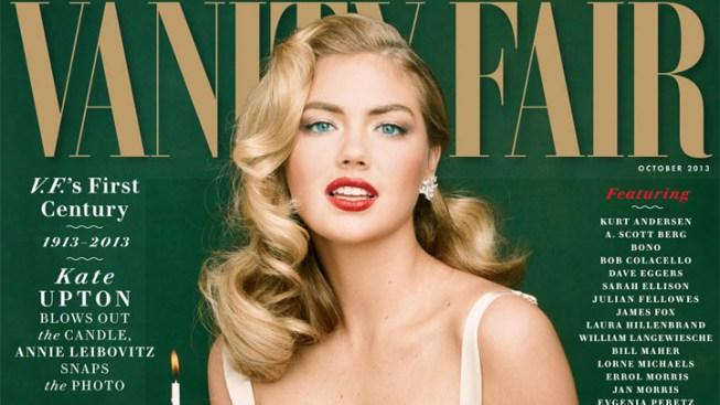 Kate Upton Channels Marilyn Monroe for Vanity Fair