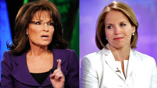 Katie Couric and Sarah Palin Set for Morning Show Match-Up