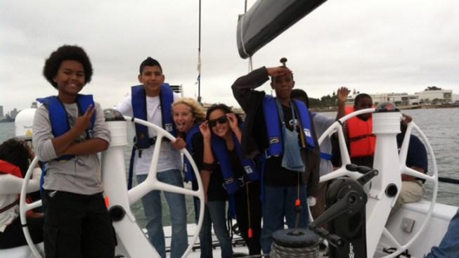 Summer Program Takes Inner-City Youth Sailing
