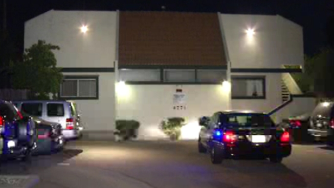 Shots Fired in La Mesa Apartment