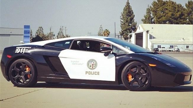 LAPD Gets a Lamborghini