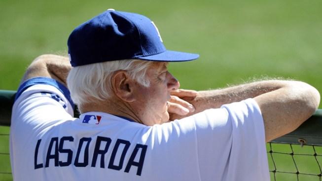 Former Dodgers Manager Tommy Lasorda Hospitalized After Heart Attack