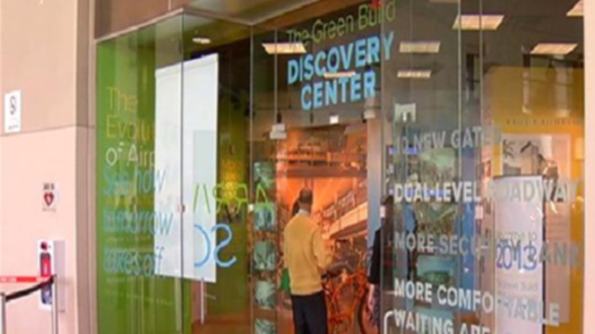 Green Build Exhibit Opens at SD Airport