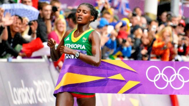 Ethiopia's Gelana Wins Women's Olympic Marathon
