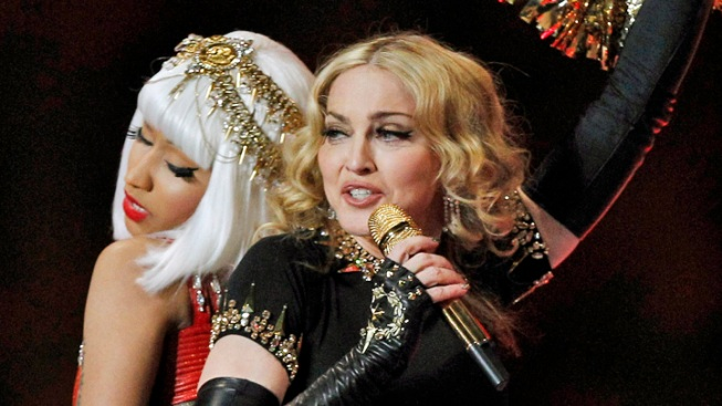 Nicki Minaj Pushes Madonna from Top of Chart