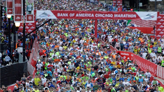 Chicago Marathon Finishes With Record Numbers