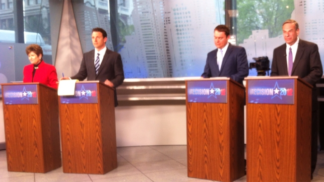 Mayoral Candidates Face Off in Live Debate
