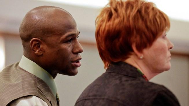 Boxer Mayweather Gets 90 Jail Days in Vegas Case