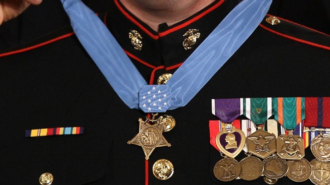 SD Marine Could Receive Medal of Honor