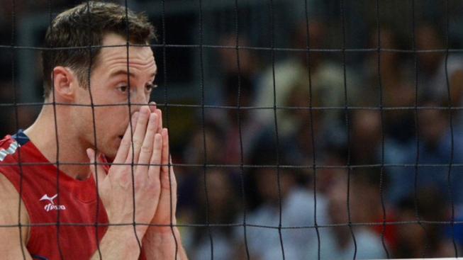 Goliaths of Volleyball Fall to Italy
